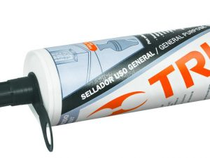 Sellador transparente, 100% de silicón, 280 ml