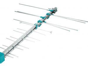 Antena aérea para exterior, 12 elementos