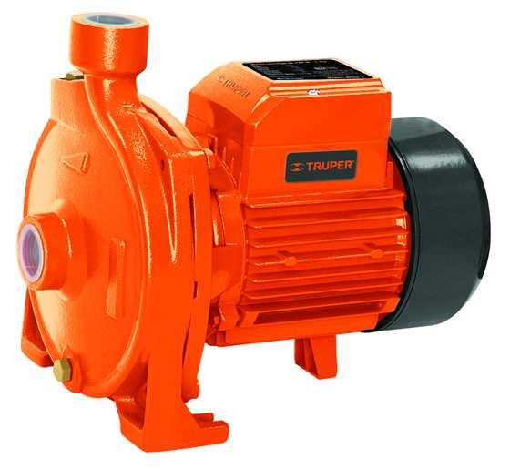 Bomba eléctrica para agua, centrífuga, 1 HP