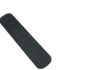 Cinta adhesiva antiderrapante en tiras, 50 mm, negra, 6 pzas