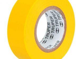 Cinta de aislar # 22, 9 m, amarilla