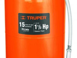 Bomba hidroneumática de 1-1/2HP, 150 litros