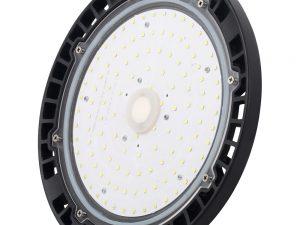 Luminario LED tipo UFO para bodega, 100W Surtek.