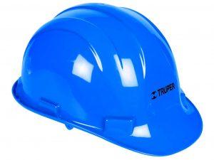 Casco de seguridad color azul