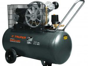 Compresor de aire de 120 lts, horizontal