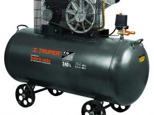 Compresor de aire de 240 lts, horizontal