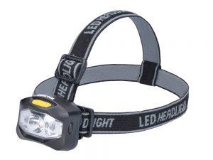Linterna para cabeza a baterías 160 lm Surtek