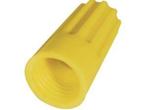 Capuchón para cable Cal. 14 x 12 amarillo bolsa con 10 pzs Surtek