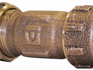 Cople de unión para tubo cobre