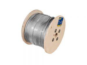"Cable acero 7X19 1/4""X457m"