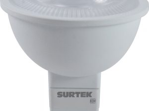 Foco LED MR16 4.5W luz de día base GU5.3 Surtek