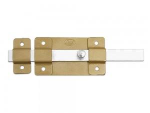 Pasador de sobreponer 8 cm dorado Lock