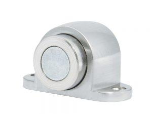 Tope magnético para puerta níquel satinado Lock