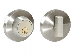 Cerrojo doble Alta níquel satinado Lock