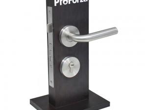 Exhibidor mostrador con cerradura Calabria de embutir Lock