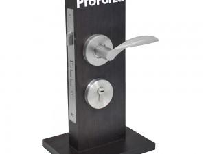 Exhibidor mostrador cerradura Messina doble de embutir Lock