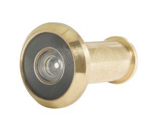 Mirilla para puerta latón brillante Lock