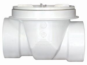 Válvula de retención para drenaje