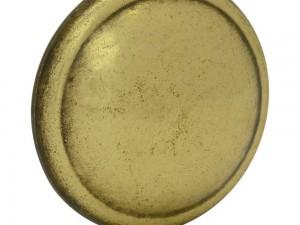 Botón o perilla clásico tipo 02 latón antiguo Lock