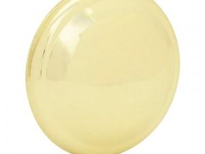 Botón o perilla clásico tipo 02 latón brillante Lock
