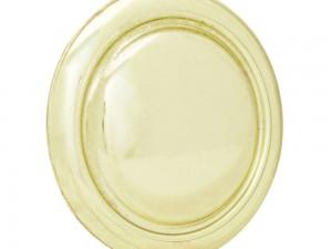 Botón o perilla clásico tipo 03 latón brillante Lock