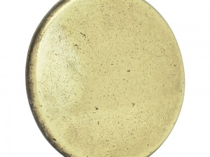 Botón o perilla moderno tipo 01 latón antiguo Lock
