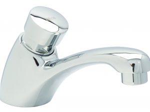 Llave individual temporizadora para lavabo