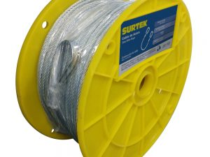 """Cable acero 7x19 1/4""""x76m Surtek"""