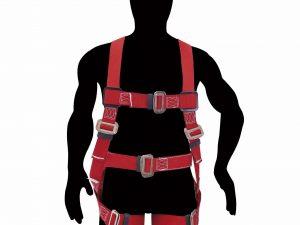 Arnés contra caídas con cinturón talla 40-44 Urrea